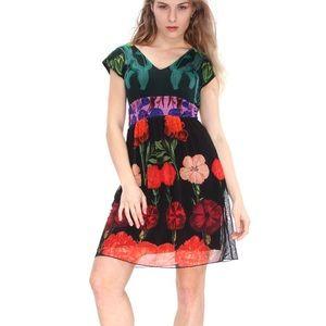 DESIGUAL Carmen Printed Dress